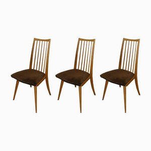 Mid-Century Dining Chairs, Set of 3
