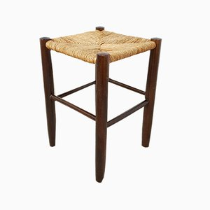 Wicker Stool, 1950s