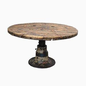 Table d'Appoint Vintage Industrielle