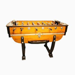 Vintage French Foosball Game Table, 1930s