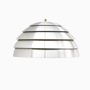 Swedish Aluminum Pendant Lamp by Hans-Agne Jakobsson for Markaryd, 1960s