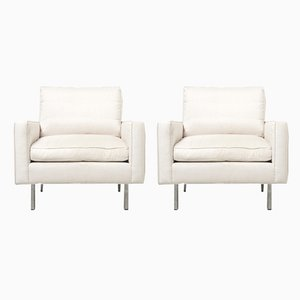 Model 25 BC Lounge Chairs by Florence Knoll Bassett for Knoll Inc./Knoll International, 1960s, Set of 2