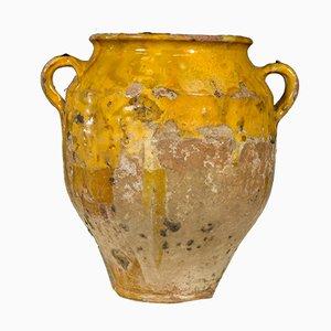 Pot à Confiture Antique en Céramique