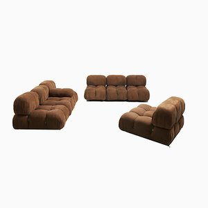 Modular Sofa Set by Mario Bellini for B&B Italia/C&B Italia, 1970s, Set of 8