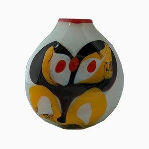 Opaline Glass Vase by Ludmilla & Dimitri Shushkanov, 1970s