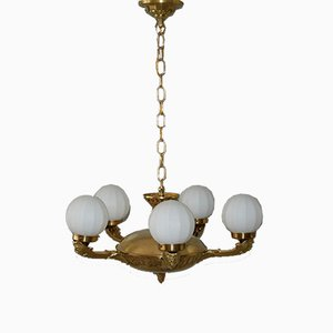 Vintage Secession Ceiling Lamp, 1930s