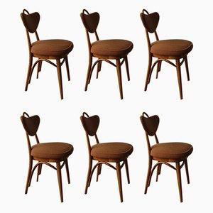 Chaises de Salle à Manger, 1960s, Set de 6