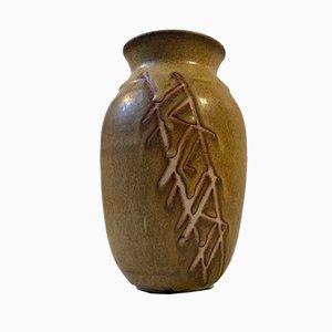 Dänische Keramikvase von Aino Grib, 1970er