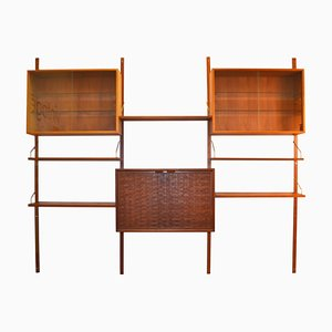 Teak Wall Units by Poul Cadovius for Cado, 1960s