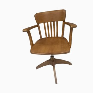 American Desk Chair by Augusto Bozzi for Stoll, 1920s