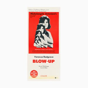 Póster de la película Blow-Up vintage, 1967