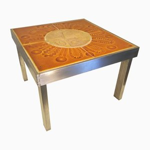 Coffee Table by Roger Capron, 1970s