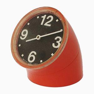 Clock by Pio Manzu for Ritz Italora, 1968