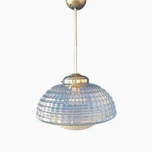 Lampada da soffitto in vetro di Murano, Italia, 1962