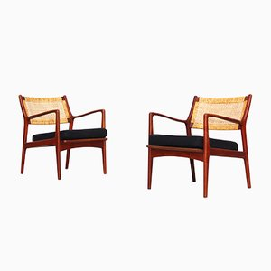 Mid-Century Lounge Chairs by Karl-Erik Ekselius for JOC Vetlanda, Set of 2