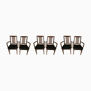 Mid-Century Dining Chairs from William Lawrence of Nottingham, Set of 6