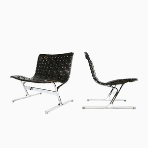 Lounge Chairs by Ross Littell for ICF De Padova, 1960s, Set of 2