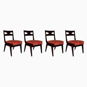 Chaises de Salle à Manger, 1950s, Set de 4