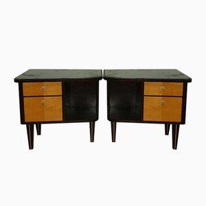 Tables de Chevet Mid-Century, 1960s, Set de 2