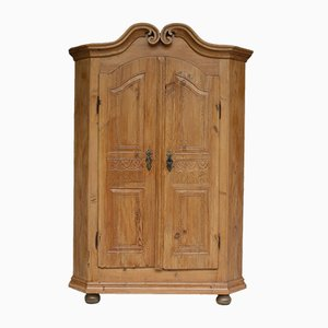 Antique Softwood Cabinet, 1820s