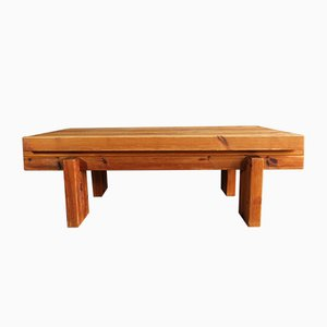 Danish Pinewood Coffee Table by Christian IV for Chr. 4, 1970s