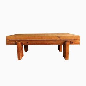 Table Basse en Pin par Christian IV pour Chr. 4, 1970s