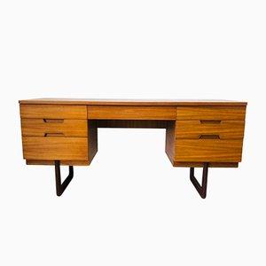 Mid-Century Teak Desk by Gunther Hoffstead for Uniflex, 1960s