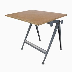 Vintage Model Reply Drafting Table by Wim Rietveld & Friso Kramer for Ahrend De Cirkel, 1950s
