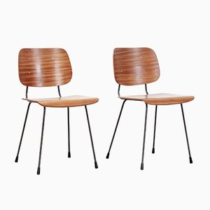 Model 7004 Dining Chairs by Tjerk Reijenga for Pilastro, 1960s, Set of 2