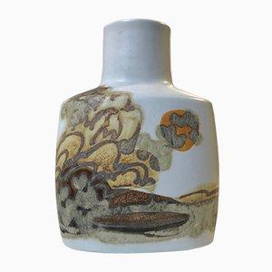 Jarrón danés de cerámica de Ellen Malmer para Royal Copenhagen, años 70