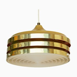 Swedish Pendant Lamp by Carl Thore / Sigurd Lindkvist for Granhaga Metallindustri, 1970s