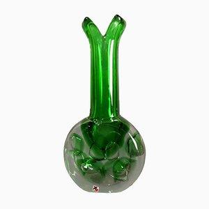 Glass Vase from Jaroslav Svoboda, 1950s