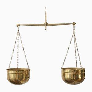 Mid-Century Brass Scale