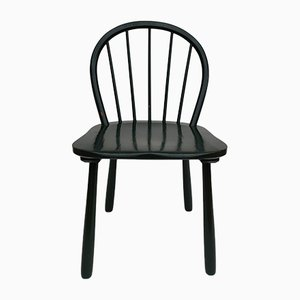 Danish Teak Wood 1550 Side Chair from Fritz Hansen, 1950s