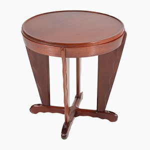 Mahogany Coffee Table by A.F. van der Weij, 1920s