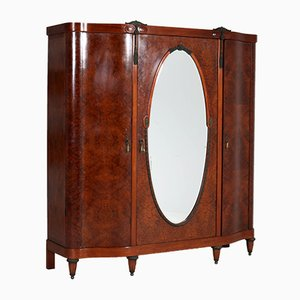 French Thuya Burl Wardrobe, 1930s