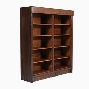 Oak Bookshelf by Hildo Krop for Gebroeders Monsieur Steenwijk, 1920s