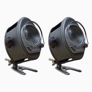 Kleine Projektoren von AE Cremer, 1950er, 2er Set
