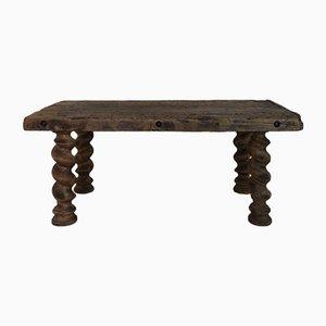 Tavolino da caffè Mid-Century in legno