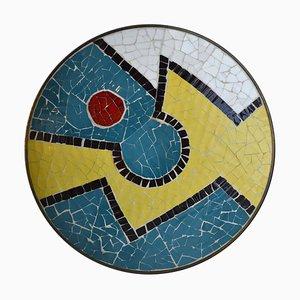 Dekorativer Mosaikteller, 1950er