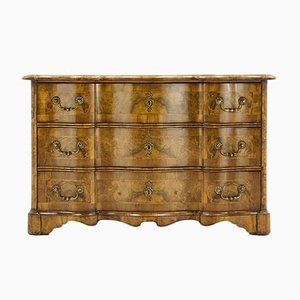 18th Century Inlaid Walnut Commode