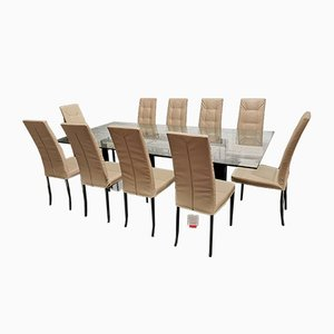 Dining Table & Chairs Set from Bonaldo and Tonelli, 2000s