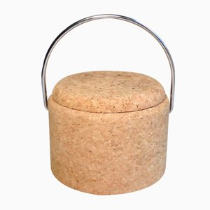 Cork Ice Bucket by Signe Persson Melin for Kosta Boda, 1970s