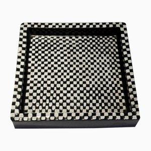 Surtout de Table Domino en Céramique par Stig Lindberg pour Gustavsberg, Suède, années 50