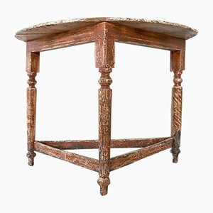 Antique Italian Louis Philippe Console Table