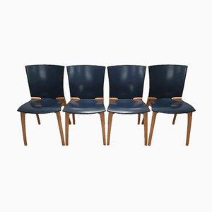Esszimmerstühle von Josep Llusca für Cassina, 1994, 4er Set