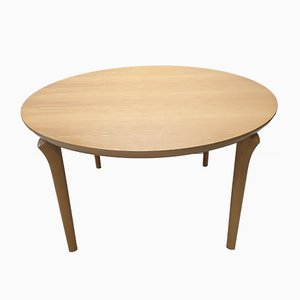 Beech Round Dining Table from Cassina, 1994