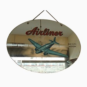 Decorative Airliner Mirror, 1950s