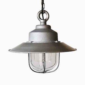 Industrielle deutsche Deckenlampe von Legrand, 1950er