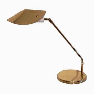 Lampe de Bureau Scandinave en Laiton d'Aneta, années 70